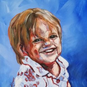 """Lydia (SOLD) 8"""" x 10"""" Acrylic on Canvas"""